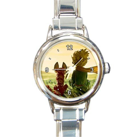 The Little Prince Custom Design Round Italian Charm Watch Limited Edition#1