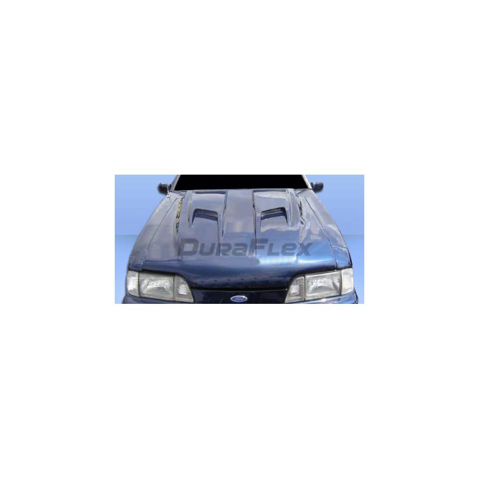 1987 1993 Ford Mustang Duraflex Mach 2 Hood   1 Piece