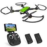 Becrot X28 RC Drone with FPV 720P HD WiFi Camera Live Video 90° Wide-Angle, Foldable Design Quadcopter for Beginners with Altitude Hold, Headless Mod