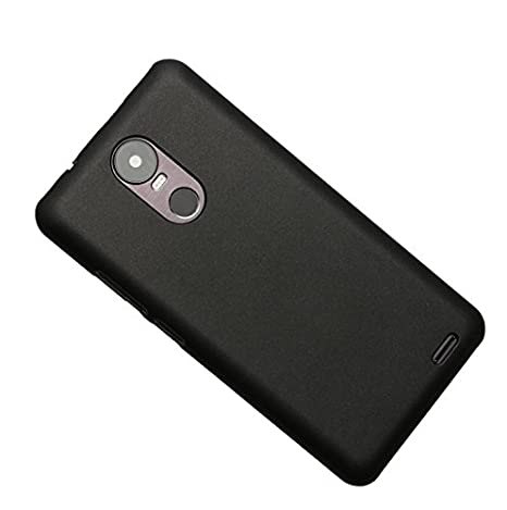 PREVOA ® Colorful Plástico Duro Carcasa Funda Case para UleFone Tiger Smartphone - (Negro)