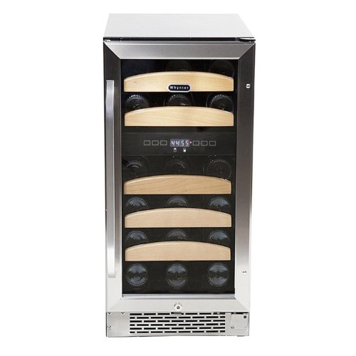 Whynter BWR-281DZ Dual Zone Built-In Wine Refrigerator, 28-Bottle