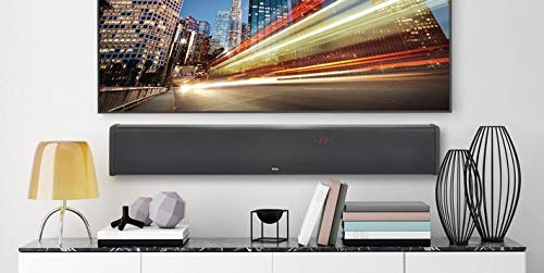 AccuVoice Bluetooth Wireless Streaming ZVOX SB400 Aluminum Sound Bar with Built-in Subwoofer