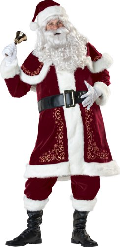 InCharacter Costumes Jolly Ol' St. Nick Costume, Red/White, Large