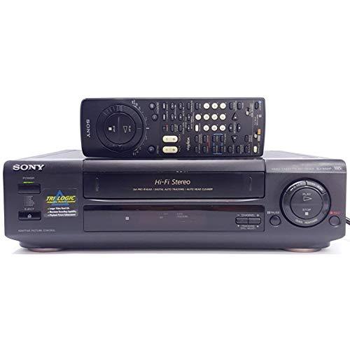 - Sony SLV-660HF VCR 4-Head Hi-Fi Stereo Video Cassette Recorder