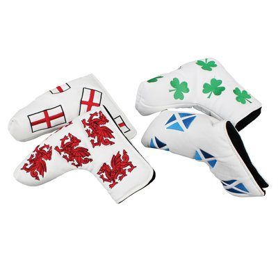 Masters Headkase Flag Putter Cover - Masters Putter