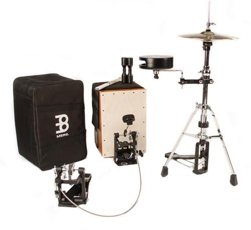 Meinl Percussion CAJ-DRUMSET Cajon Drum Set Hybrid Percussion Kit with FREE Cajon Sticks, Shaker, and Bag (VIDEO)