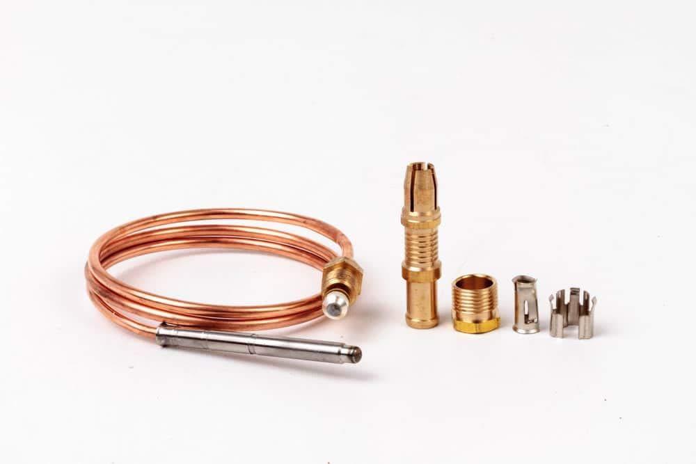 Termopar 600 mm parte para freidoras PITCO Gas 35 C + 45 C +, equivalente a P/N p5047540: Amazon.es: Hogar