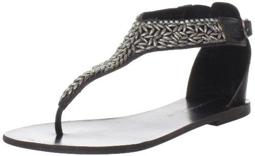 Sandalo Infradito Da Donna Cinese In Tessuto