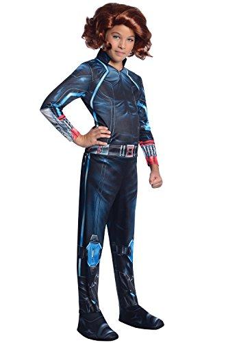Rubie's Costume Avengers 2 Age of Ultron Child's Black Widow Costume, Large ()