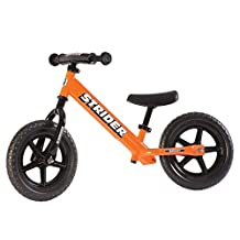 "STRIDER STR-B-03 Sport, No Pedal 12"" Kids Learner Balance Bike, Orange"