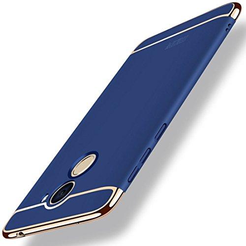 ZITEZHAI-Fashion case MOFi for Huawei Enjoy 7 Plus Three - Paragraph Shield Full Coverage Protective Case Back Cover (Color : Blue)]()