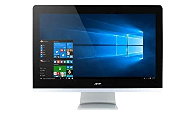 """2018 Acer Aspire 23.8"""" Full HD All-in-One Desktop Computer, Intel Quad-Core i5-6400T up to 2.80GHz, 8GB RAM, 1TB HDD, HDMI, WiFi 802.11ac, USB 3.0, Bluetooth 4.0 LE, Windows 10 (Certified Refurbished)"""