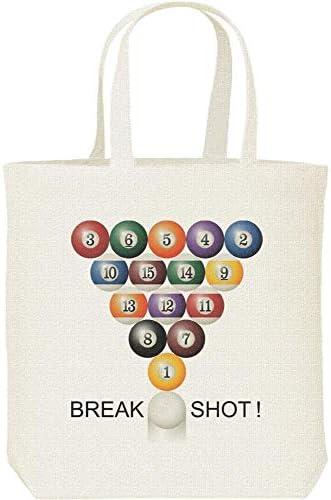 エムワイディエス(MYDS) BREAK SHOT!(ビリヤード)/キャンバス M トートバッグ