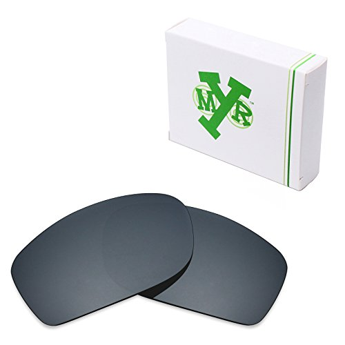 Mryok Polarized Replacement Lenses for Oakley Fives Squared - Black IR by Mryok