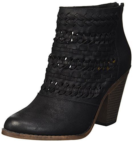Fergalicious Women's Wanderer Ankle Boot, Black, 9.5 M US