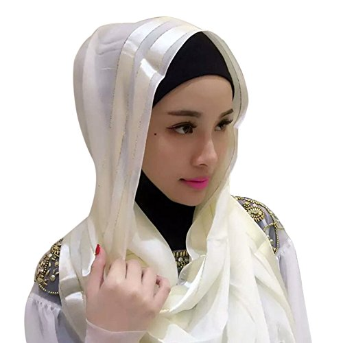 Zhengpin Muslim Islam Headscarf Hijabs Cap for Women Cotton Hijabs Scarves Cape