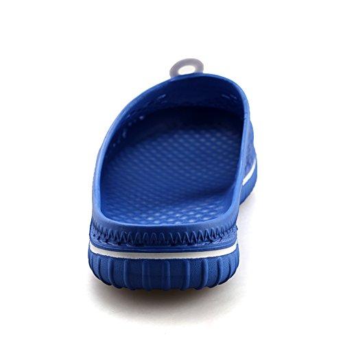 Aleader Performance - Zuecos de goma eva para mujer, Azul, 36 1/3 EU