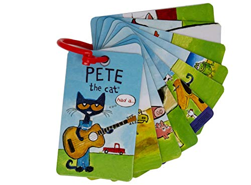 Pete the Cat - Flashcards for Toddlers and Preschool -