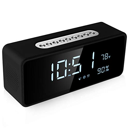 (FM Radio Alarm Clock with 8