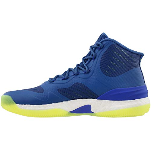 adidas Mens D Rose 8 Basketball Athletic Shoes, Blue, 8
