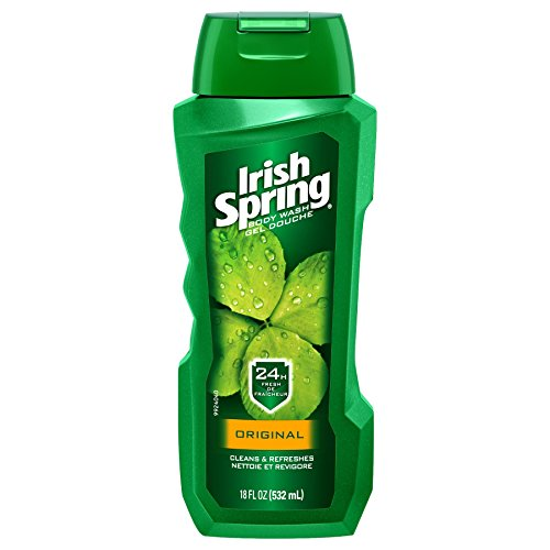 Irish Spring Body Wash, Original, 18 Fluid Ounce (Pack of 6)