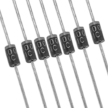 50 x 1N4001 50V 1A DO-41 Axial Lead Rectifier Diodes