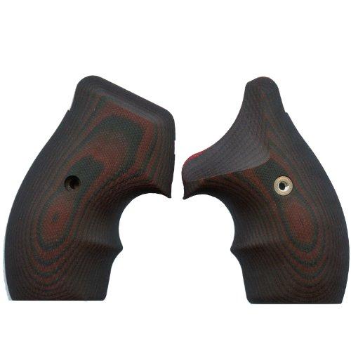 VZ Grips J-Frame 320 Gun Grip, Black - 320 Cherry