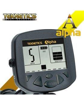 Teknetics Alpha 2000 Detector de metales + protector de disco: Amazon.es: Bricolaje y herramientas