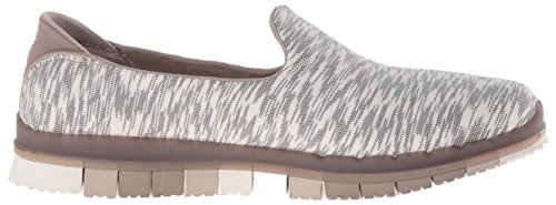 Skechers Performance Donna Flex Flex Slip-on Walking Taupe / Bianco / Multi
