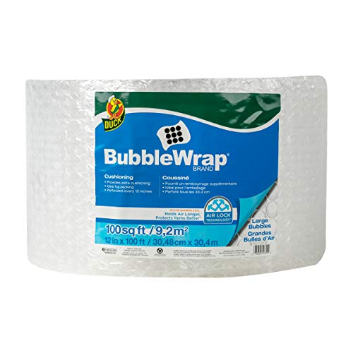 (Duck Brand Large Bubble Wrap Roll, 5/16