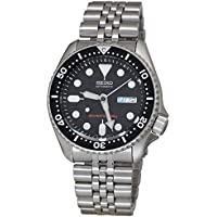 Seiko Men's Japanese Automatic Stainless Steel Diving Watch, Color:Silver-Toned (Model: SKX007K2)