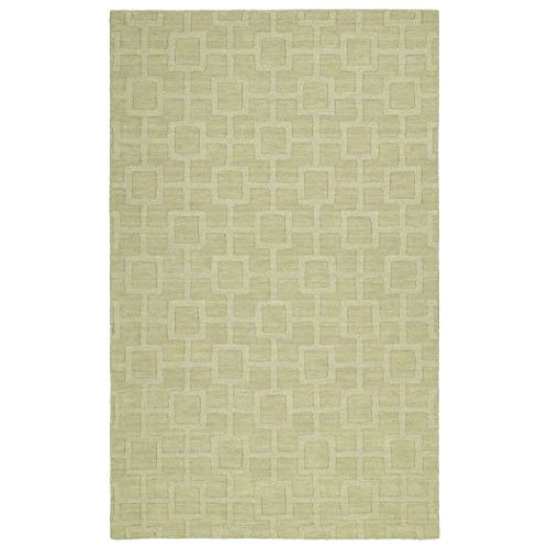 - Kaleen Rugs Imprints Modern Collection IPM07-33 Celery Hand Tufted Rug, 3'6