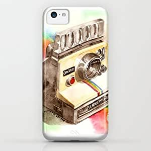 Society6 - Vintage Gadget Series: Polaroid Sx-70 Onestep Came¡ iPhone & iPod Case by Pinot