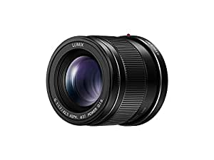 PANASONIC LUMIX G Lens, 42.5MM, F1.7 ASPH, MIRRORLESS Micro Four Thirds, Power Optical I.S, H-HS43K (USA Black)