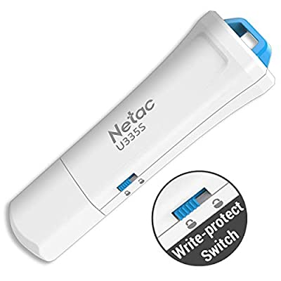 Netac U335S Write Protected Flash Drives from Netac