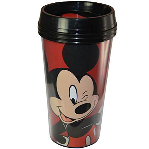 Licensed Character Tumbler for Kids and Adults (MickeyMouse 16Oz) ()