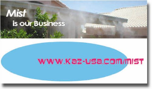 5 Nozzle Fan Mister - Outdoor Misting Systems