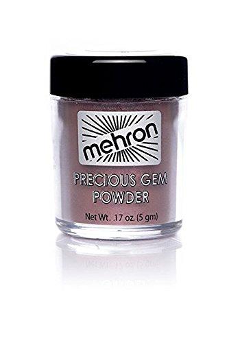 Mehron Precious Gem Glitter Powder 0.17 Oz | Silky, Bright Colors, Shimmering & Sparkling Loose Eyeshadow | For Face, Body & Nails | Add Intensity, Improve Looks & Create Dramatic Effect (Amethyst)