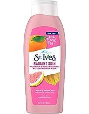 St. Ives Even & Bright Pink Lemon & Mandarin Orange Body Wash For Unisex 24 oz