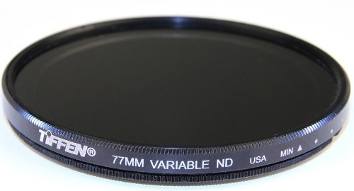 Tiffen 77VND 77MM VARIABLE ND FILTER for Camera lenses