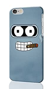 Futurama Pattern Image - Protective 3d Rough Case Cover - Hard Plastic 3d Case - For iphone 5 5s -