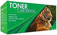 Tigre Cartucho de Toner Genérico 105A con Chip Color Negro, Compatible con Impresoras HP Laser 107w / 107a / M