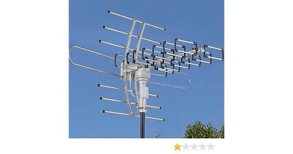 Amazon com: HDTV Outdoor Attic Amplified Antenna 36dB Rotor