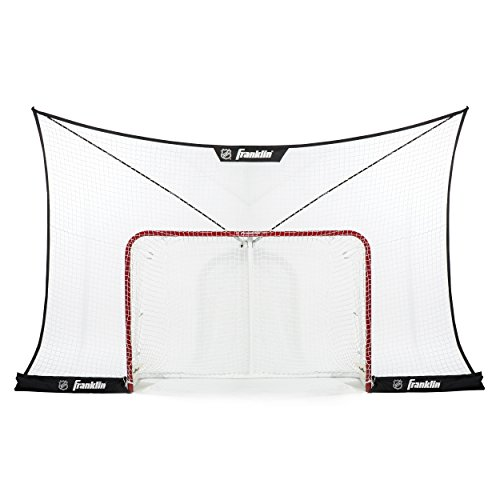Franklin Sports Hockey Backstop Net - NHL - Fits 72 Inch Goal