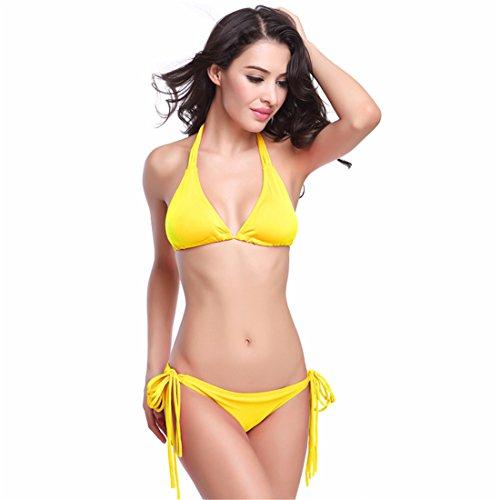 Hamaka - Conjunto - para mujer amarillo
