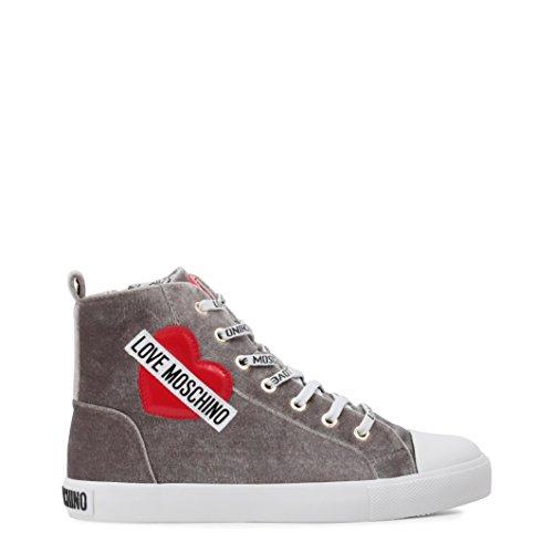 Velluto Sneaker Moschino Delle Donne Di Amare Di Blu Ja15023g16if075a vPqwIR1