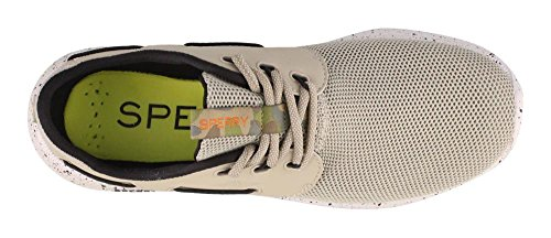 Sperry Top-Sider Womens 7 Seas 3-Eye Camo Boating Shoe Taupe