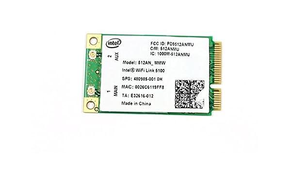 Intel 5100 512AN/_MMW Mini PCIe PCI-express WLAN Wireless Card Module 480985 506678-001 for HP