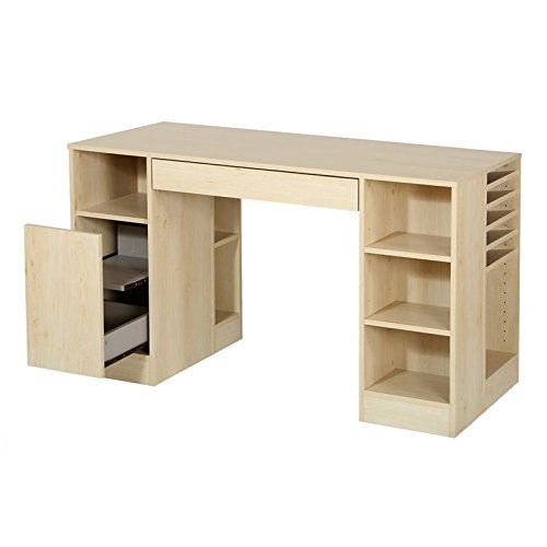 Bowery Hill Craft Table in Natural Maple by Bowery Hill