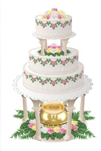Wedding Journal Fancy Wedding Cake Fountain: (Notebook, Diary, Blank Book) (Wedding Journals Notebooks Diaries) - Wedding Cakes Fountains